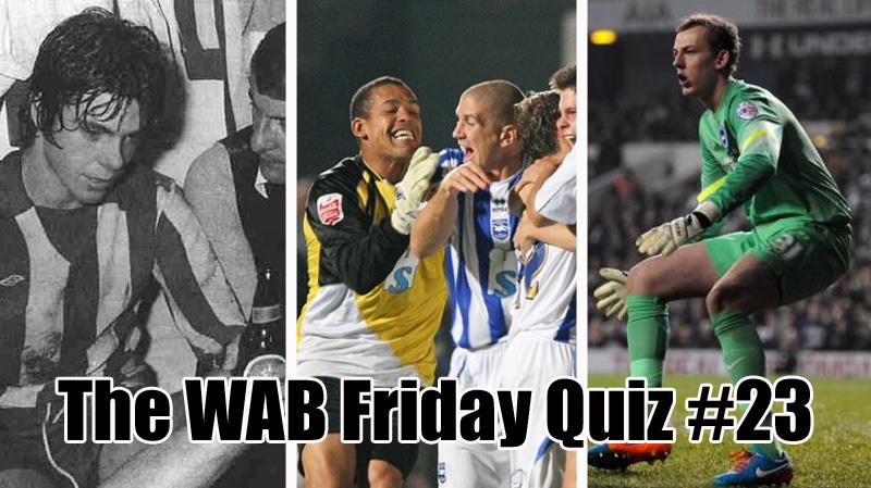 The WAB Friday Quiz #23