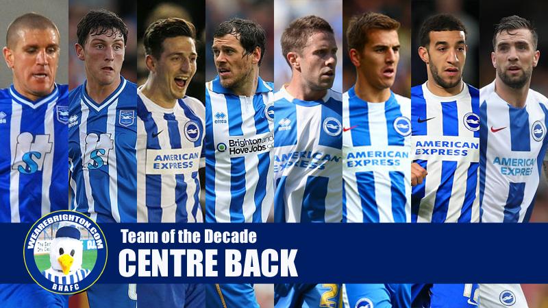 Vote for your Brighton Team of the Decade: Centre Back